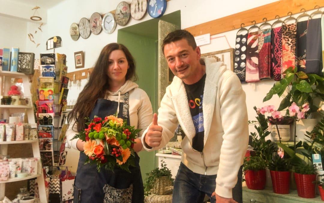 Vazba květin – Jeseniova ul.