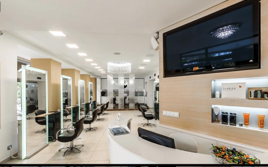 Luxusní kadeřnický salon