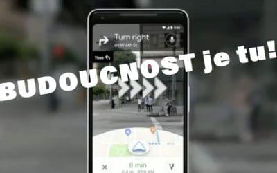 Google maps – blízká budoucnost