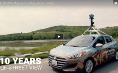 Google maps – 10 let s námi.
